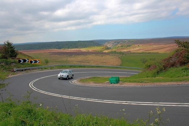 The A169, North Yorkshire