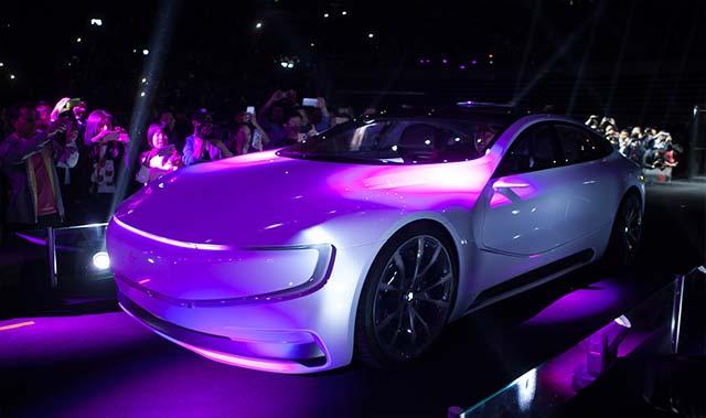 LeEco Unveils Electric Car