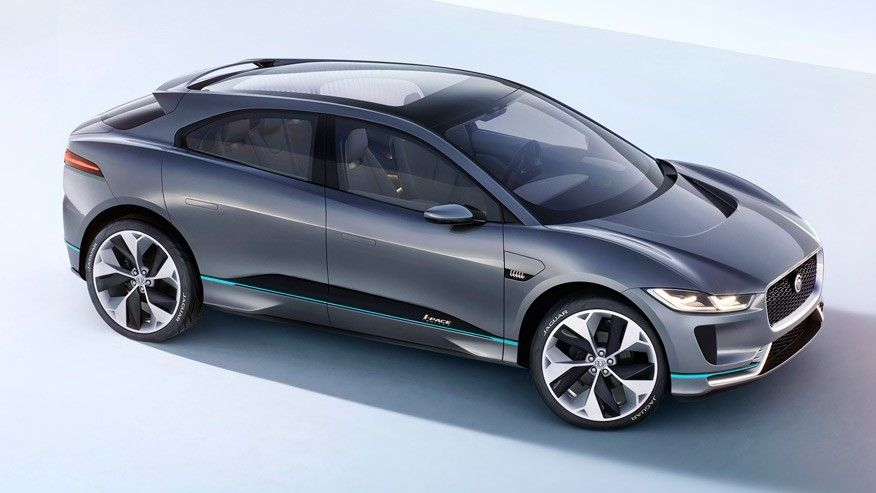 Jaguar I Pace Electric Suv To Take On Tesla Model X In 2018